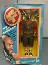 """NEW 1983 MR T - The A-TEAM 12"""" Poseable Action figure VINTAGE Toy GALOOB No.8501"""
