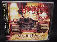 WARBRINGER War Without End + 1 JAPAN CD Bonded By Blood Holy Grail Zombie