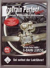 PRO TRAIN Perfect Deluxe incl. 2 ADDOn Bahn Leipzig + Nürnberg-Bayreuth PC