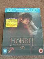 The Hobbit: An Unexpected Journey - 3D Blu-Ray + Blu-Ray - New & Sealed