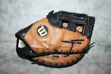 Wilson A900 Brown Leather First Base Glove Rh Ecco Adjustable Adult Med