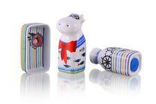 Salz- und Pfefferstreuer Set Porzellan | Matrose | in Geschenkbox von Top Choice