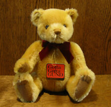 """Gund Mohair Collection #9653 TEDDY BEARKIN 11"""" Jointed NEW/Tag From Retail Store"""
