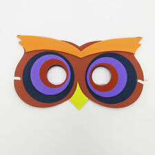 Owl Bird Animal Zoo Safari Farm Jungle Foam Mask Costumes Kids Child Boy Girls