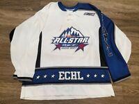 GAME USED 2007 ECHL ALL STAR Idaho Reebok CCM Hockey Jersey Mens XL
