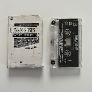 NOVEMBER RAIN & SWEET CHILD O' MINE [Single] by Guns N' Roses (Cassette Single)