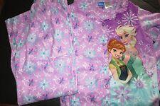 Disney Frozen girls pajama 2pc Size 10-12 NWT flame resistant