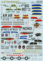 Print Scale 48-073 - 1/48 Decal for A-10 Thunderbolt Ii Part 2
