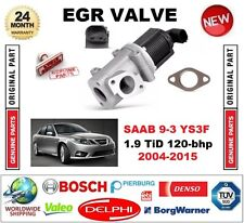 FOR SAAB 9-3 YS3F 1.9 TiD 120-bhp 2004-2015 Electric EGR VALVE 2-PIN with GASKET