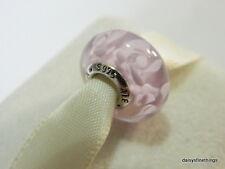NEW! AUTHENTIC PANDORA CHARM MURANO GLASS NOSTALGIC ROSES  #791653  P