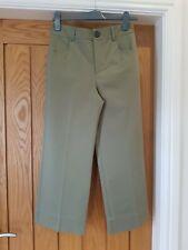 ZARA WOMAN Olive Green Crop Wide leg trousers Size XS BNWOT