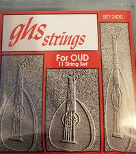 GHS OUD 11 STRING SET (SET 2420)