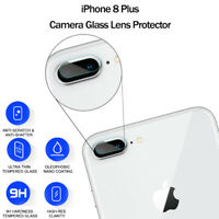 For Apple iPhone 7 Plus 8 Plus Back Camera Lens Tempered Glass Protector Cover
