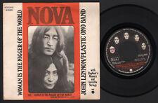 "7"" BEATLES JOHN LENNON YOKO ONO WOMAN IS THE NIGGER OF WORLD APPLE ITALY 1972"