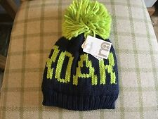 """Mothercare Boys Hat """"Roar"""" 1-3 years NEW Navy/Green colour -Brand New"""