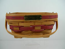 1993 Longaberger Christmas Collection 1993 Edition Bayberry Basket