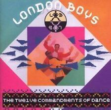 LONDON BOYS - THE TWELVE COMMANDMENTS OF DANCE - CD ALBUM - REQUIEM +
