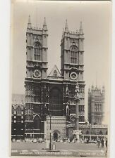 Westminster Abbey, Judges L810 London Postcard, A904