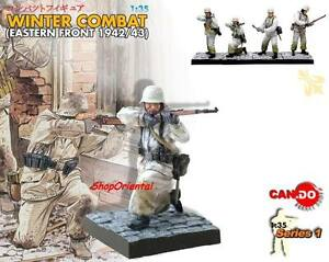 DRAGON 1:35 WW2 German Soldier Diorama WINTER Painted FIGURE BUILT MODEL CD_6