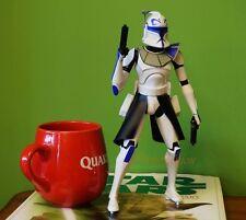 """Star Wars Display Diorama 10"""" Figur Modell ARC Clone Trooper Captian Rex K1077"""
