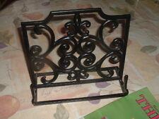 Vintage Black Cast Iron Book Speech Or Music Stand
