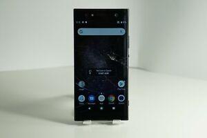 """READ"" Sony Xperia XA2 Ultra 32GB Unlocked Smartphone - Black Crack Digitizer"