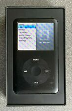 """Apple iPod Classic 6th Generation 80 GB.  Boxed with cable and ear pods """"bundle"""""""