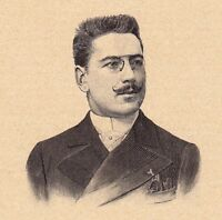 Portrait XIXe Léon Xanrof Léon Alfred Fourneau Chanson Chansonnier Montmartre