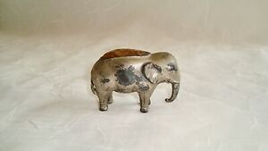 ANTIQUE  ELEPHANT PIN CUSHION ~ Circa 1900, Made in Germany