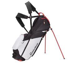 TaylorMade Flextech Lite Stand Golf Bag - New 2021 - Grey Cool/Red