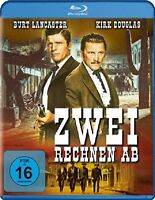ZWEI RECHNEN AB (BURT LANCESTER, KIRK DOUGLAS,...)  BLU-RAY NEU