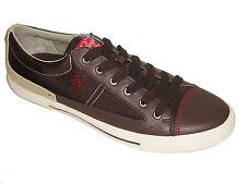 Original Penguin Men's Shoes Quest Dark Chestnut Lace Up Fashion Sneakers Size 9
