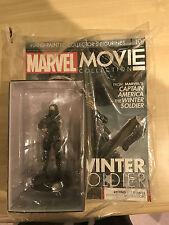 MARVEL MOVIE COLLECTION #10 WINTER SOLDIER FIGURINE MAGAZINE