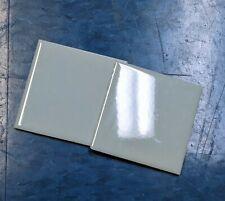 Blue ceramic tile, Daltile, NOS, glossy 4-1/4