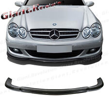 For M BENZ 02-06 W209 CLK55AMG 2DR CS Look 3K Carbon Fiber Front Bumper Wing Lip