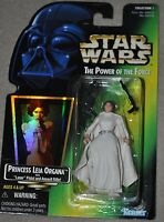 STAR WARS DISNEY POTF GREEN PRINCESS LEIA ORGANA HOLO VINTAGE CARRIE FISHER MOSC
