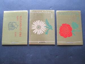 Schweiz Markenhefte Nr. 51/52/53 von 1962 - 64, Pro Juventute in Postfrisch (11)