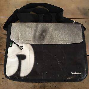 Yak Pak Computer Bag TERRACYCLE Recycled Fabric. 40-Across Height-43 Width-11cm