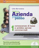 progetto Azienda passo passo vol.1 paramond pearson scuola cod:9788861602243