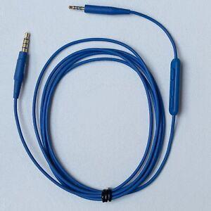 Bose QuietComfort QC 25 35 OE2 Headphone Audio Cable 2.5-3.5mm Mic.For Apple iOS