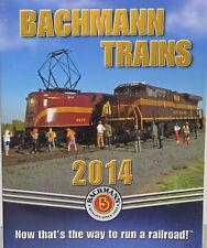 Bachmann & Williams 2014 N HO O G Scale Catalog NEW Free Shipping!