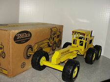 VIntage Tonka Road Grader in the Box - Original Condition
