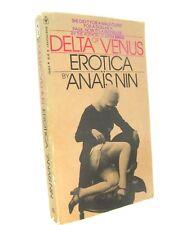 1st PB Editon, 9th Printing, Anaïs Nin's DELTA OF VENUS, Bantam, ©1978