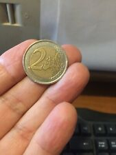 Moneta da 1 e 2 Euro emissione 2001 e 1999, Re Juan Carlos I,  Espana, Spagna.