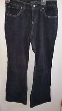 Squeeze Boot Cut Flare Leg Denim Black Jeans Sz 9 10 Womans