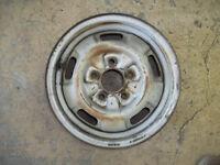 """1987 87 1988 88 89 90 Mitsubishi Van Wagon Steel Wheel Rim 14"""" OEM USED 65663"""