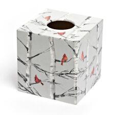 Abedul cubierta caja de pañuelos de Madera Regalo Ideal