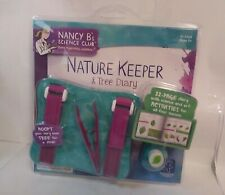 Nancy B's Science Club Nature Keeper Tree Diary Educational Insights Ages 8+