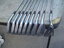 Classic Spalding Kro-Flite Marilyn Smith RH Golf Club Iron Set w Leather Grips