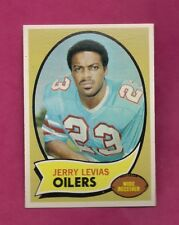1970 TOPPS # 89 OILERS JERRY LEVIAS ROOKIE NRMT-MT CARD (INV# A6453)